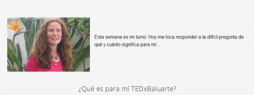 ¿Qué es para mí TEDxBaluarte?