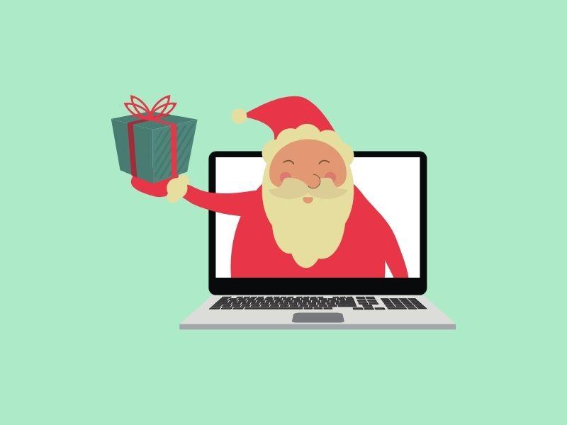 La compra online de regalos de Navidad