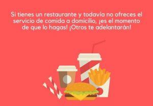 Cada vez son más las aplicaciones y plataformas que ofrecen a restaurantes y cafeterías servicio de entrega de comida a domicilio