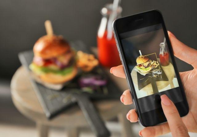 Las fotografías de una página de Facebook de un restaurante han de estar muy cuidadas.