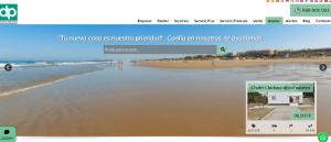Diseño Web DP Inmobiliaria