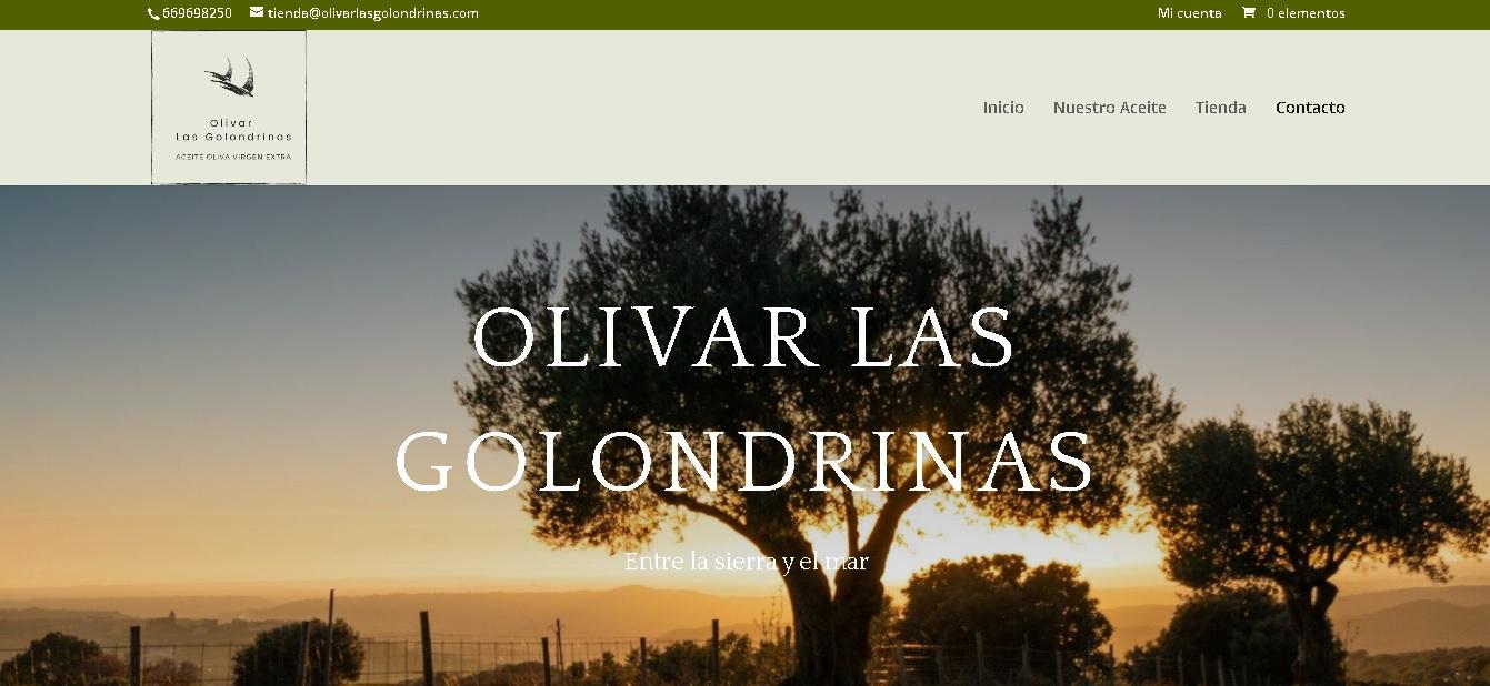 Olivar Las Golondrinas ecoommerce